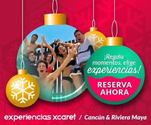Regala momentos elige experiencias Xcaret Xel-Há Xplor Cancun Tour