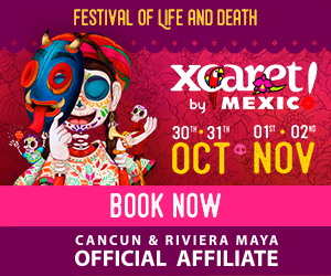 Visit the Festival of life and death traditions at Xcaret!