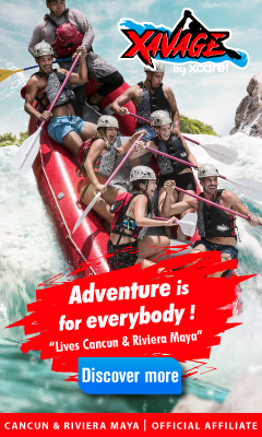 XAVAGE, the new park from Xcaret that will defy your limits with 6 activities on the water, the air and land.