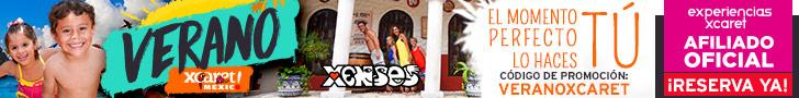 20% + $5USD con el código: VERANOXCARET Este verano reserva dos experiencias. Cancun, México