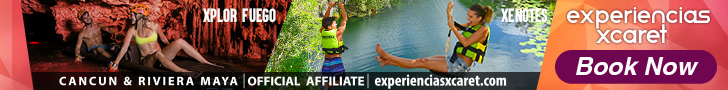 Live the adventure in Xel-Há, Xplor, Xplor fuego or Xenotes at Cancun & Riviera Maya.