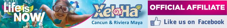 Xel-Ha Like us on Facebook