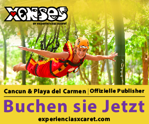 Xenses ist ein brandneuer Park der Gruppe Experiencias Xcaret in der Region Cancun/Riviera Maya. Stellen Sie Ihre Sinne und Ihren Verstand auf die Probe, während Sie in eine Welt voller Spaß hineingleiten, -fliegen und -tauchen.