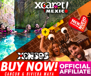 Xenses+ Xcaret Park Combo of two parks: awake your senses + mexican culture, folklore at Playa del Carmen, Mexico