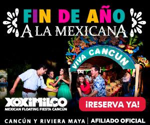 Dale la bienvenida al Año Nuevo en Xoximilco.