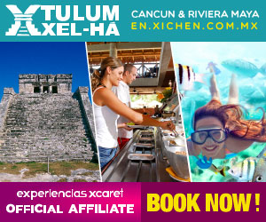 Tulum-Xel-Há, the perfect combination of culture, sea and sun.  Tulum, Riviera Maya.