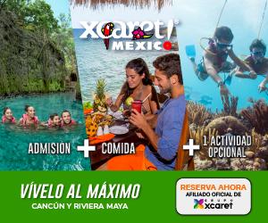 Parque Xcaret Admisión + Actividades Opcionales a precio especial.