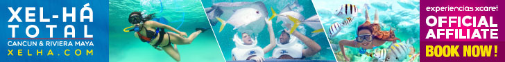 Xel-Há Park Admission + Optional Activities at special price at Tulum, Riviera Maya .