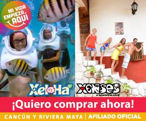 Experiencias Xcaret tiene para ti en Semana Santa  Xel-Há +Actividad opcional + Xenses.