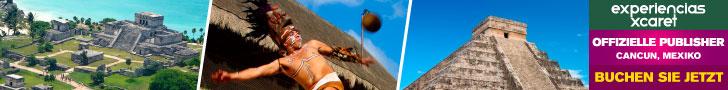 Machen Sie sich auf, zu den besten Exkursionen von Cancun, der Riviera Maya und Yucatan.Experiencias Xcaret