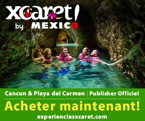Parc Xcaret Nature, culture mexicanie et 40 attractions pour toute la famille. À Cancun et Riviera Maya.