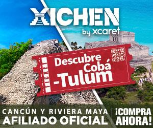 Tour Cobá y Tulum vive un día entre la historia y tradiciones de una gran civilización milenaria. Todo Incluido. Cancun, Riviera Maya.