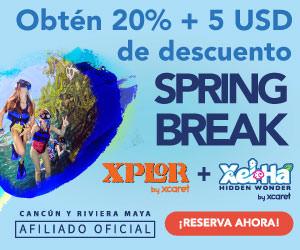 Xcaret USA - Spring Break 2021 EN