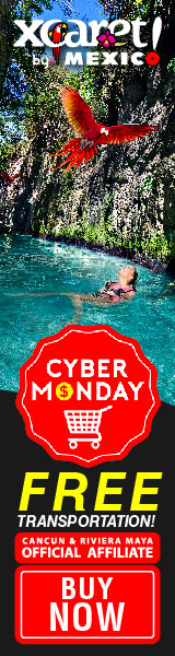 Cyber Monday Xcaret, free round transportation <br><br> <a href=