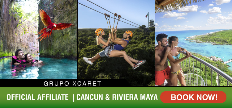 Combine the best tours and parks by Xcaret.