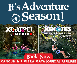 This Christmas season visit Xenotes by Xcaret with your friends and family and discover this exciting natural cenotes with great discounts.