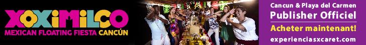 L'excursion Xoximilco est une option magnifique pour vous faire de nouveaux amis, danser et chanter avec de la musique traditionnelle jouée en live. Dégustez la délicieuse gastronomie mexicaine accompagnée de téquila.