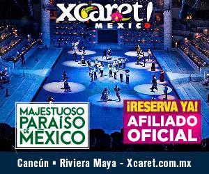 Parque Xcaret de Noche. El mejor show de Cancún y Riviera Maya con mas de 300 artistas en escena.