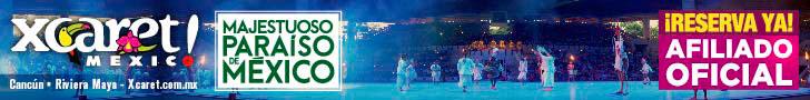 Parque Xcaret de Noche. El mejor show con mas de 300 artistas en escena de Cancún y Riviera Maya.