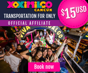 Book transportation to Xoximilco for only $15usd