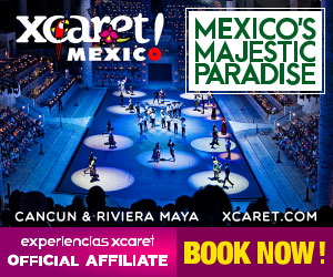 Xcaret Park Night Show Witness the best show with over 300 artist on stage at Cancun and Riviera Maya.