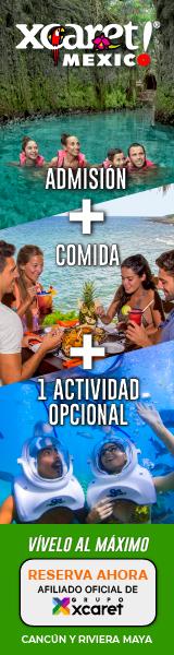 Parque Xcaret Admisión + Actividades Opcionales a precio especial en Cancún y Riviera Maya.