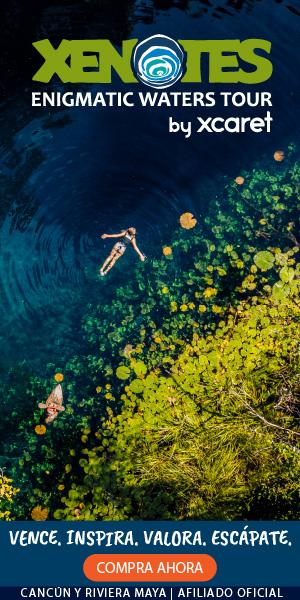conocer los cuatro tipos de cenotes que existen en la naturaleza: semiabierto, abierto, antiguo, y de caverna. Diviértete con actividades como rappel asistido, tirolesas, kayak, nado de exploración acuática, o saltos de altura.