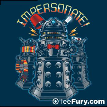 IMPERSONATE! at TeeFury.com