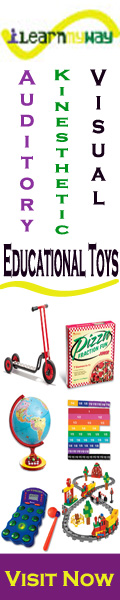 Quality educational toys; auditory, kinesthetic, visual, workbooks, travel toys, outdoor toys, carpets, ride-on toys, wooden toys, and so much more.