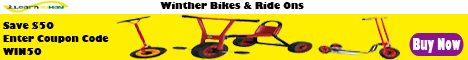Bikes and Ride Ons Fifty Dollar Coupon Code