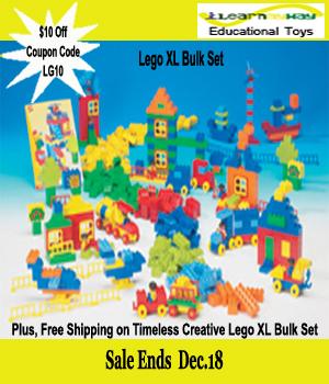 Lego XL Bulk 10 dollars off