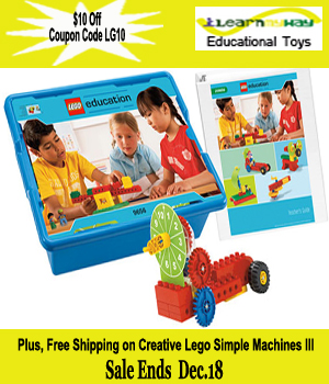 10 off Lego Simple Machines