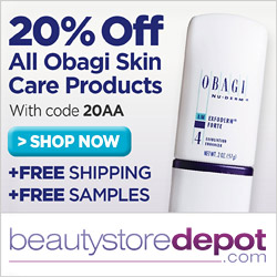 20% OFF OBAGI + Free Shipping + Free Samples, code 20AA