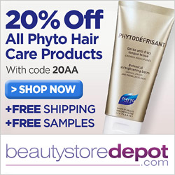 20% Off Phyto + Free Shipping + Free Samples with code 20AA