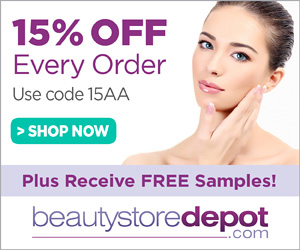 15% Off at beautystoredepot.com, code 15AA