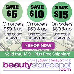 Save Up to $15 + Free Shipping at beautystoredepot.com!