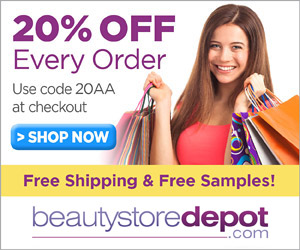 BeautyStoreDepot- 20% Off with code 20AA + Free Shipping