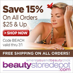 Stock Your Beach Bag - Save 15% on Orders $25 and up + Free Shipping