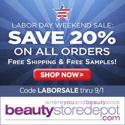 8/26-9/1: Sale at beautystoredepot.com! Take 20% OFF sitewide + FREE shipping + FREE gifts,