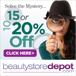 7/6-7/13 Mystery Sale: save up to 20% + free shipping at beautystoredepot.com