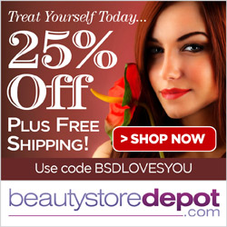 11/11 Singles Day Sale: 25% Off with code BSDLOVESYOU at beautystoredepot.com