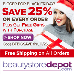 Bigger for Black Friday! Save 25% on Every Order + Free Shipping and Free Gifts with Purchase, code BFBIGSAVE
