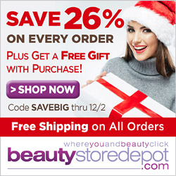 Save 26% On All Orders + Free Shipping + Free Gift, code SAVEBIG