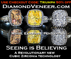 The best simulated diamonds & diamond coated cubic zirconia jewelry in the world!