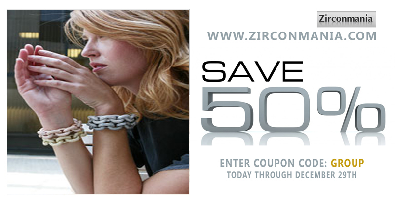 Zirconmania 50% Off