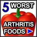 5 Worst Foods for Arthritis