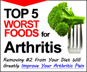 5 Worst Foods for Arthritis