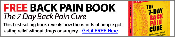 FREE Back Pain Book...