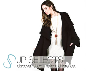 Discover. Shop. Make a Difference. http://www.JPSelects.com