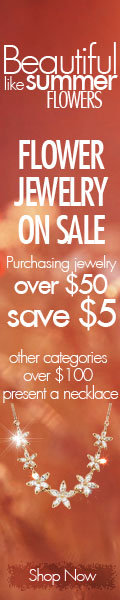 Purchasing jewelry over $50 save $5! Other products over $100 present a necklace.